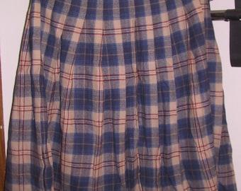 Women's Pendleton Pleaded Skirt