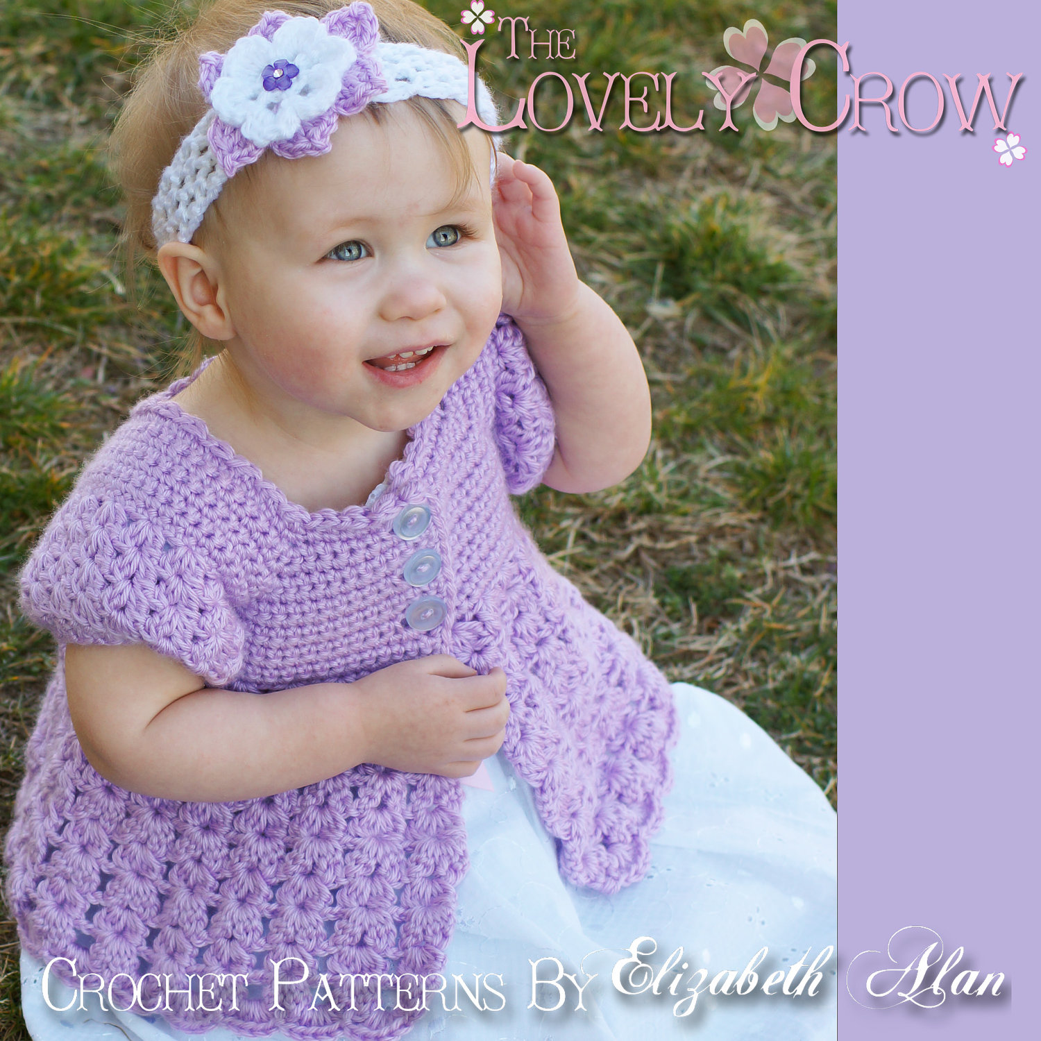 Girl Sweater Crochet Pattern BELLA REBEKAH CARDIGAN digital from ...
