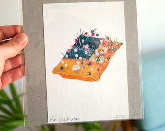 Pin Cushion - Studio Object Series Original Painting Artwork