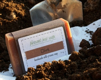 Dirt Soap Goat's Milk Cold-Process Bar
