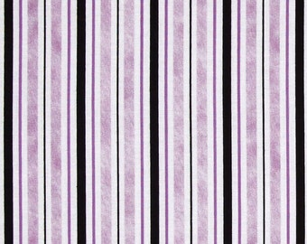 Purple Stripe Fabric, Twilight by Quilting Treasures, Purple Fabric, Purple Stripe, 01236