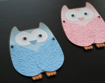 Handmade Owl Invitation Card