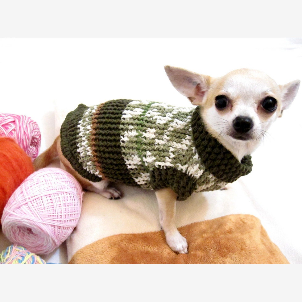 knit chihuahua sweater extra small dog clothes cotton puppy. Black Bedroom Furniture Sets. Home Design Ideas