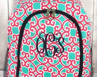 Girl's Backpack Set, Backpack and Lunchbox Set, Backpack, Monogram Backpack, Backpack Set, Back To School, Girl's Backpack, Monogram Bag