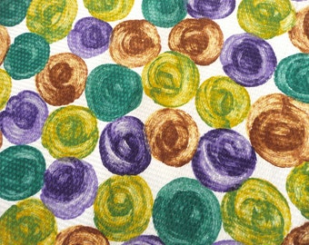 Vintage New Retro Print Woven Cotton Fabric