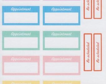 Appointment Box   203   Planner Sticker   Kikki-K   Happy Planner   Erin Condren