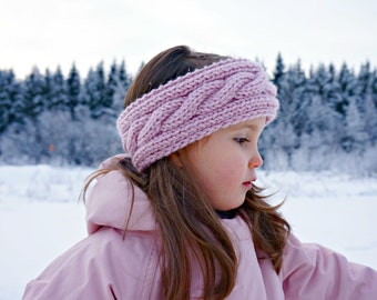 KNITTING PATTERN - The Ava Knitted Headband