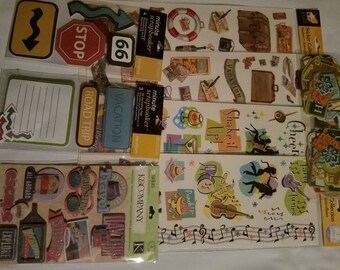 Stickers, Embellishments, Card Making, Scrapbooks, Journals