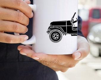 KillerBeeMoto:   Vintage American SUV Coffee Mug