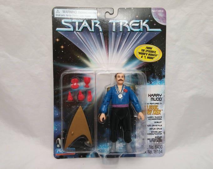 Featured listing image: Star Trek Original Series Harry Mudd Action Figure - New in Box - NIB - From episodes Mudd's Women and I, Mudd.