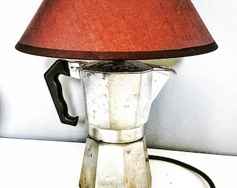 "Table lamp ""Coffee maker"""