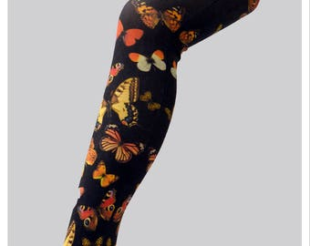 Butterfly  Vintage Print  Tight High Quality