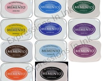 NEW! Tsukineko Memento Full Size Ink Pad - Choice of Colors