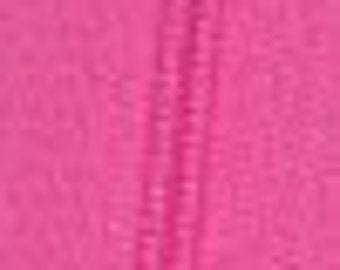 Hot Pink Wallet Zipper