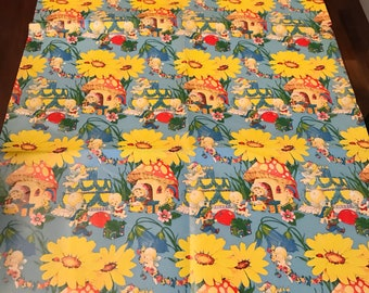 Large Lot Vintage Wrapping Gift Paper Presents Party 1960s through 1980s Hallmark American Greeting Assorted