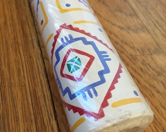 Southwest Aztec contact paper drawer liner shelf paper craft supply etc. Native Art jumbo roll Contact USA