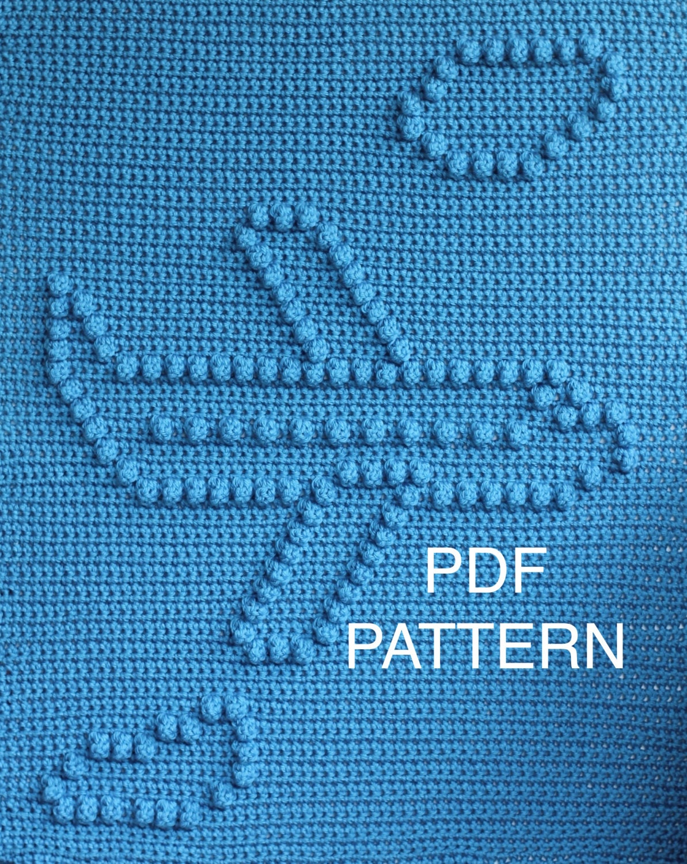 Airplane Baby Blanket Pattern - Crochet Pattern - Crochet Baby ...