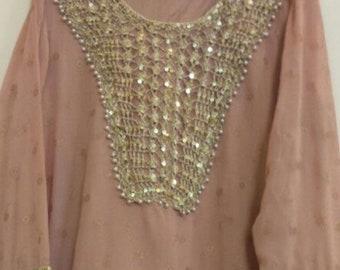 New fancy Chiffon dress( Indian dress)