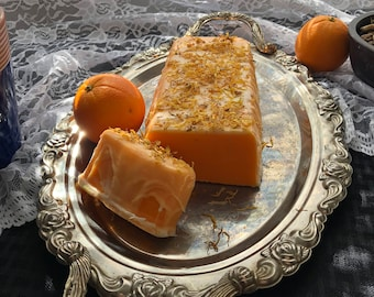 Orange sherbet pound cake