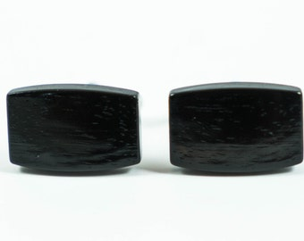 Ebony Wood Cufflinks