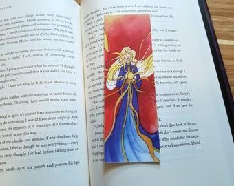 Alina Starkov, Sun Summoner Illustrated Bookmark, 2x6