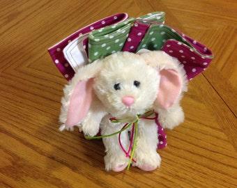 Burp Cloths -Bunny - Baby Shower Gift