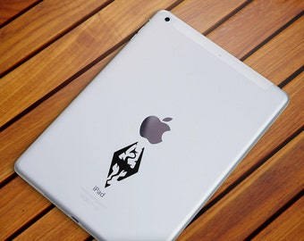 Dragon Decal, Dragon Sticker, Macbook Decals, iPhone Decals, Laptop Decals, Car Decals, Wall Decals