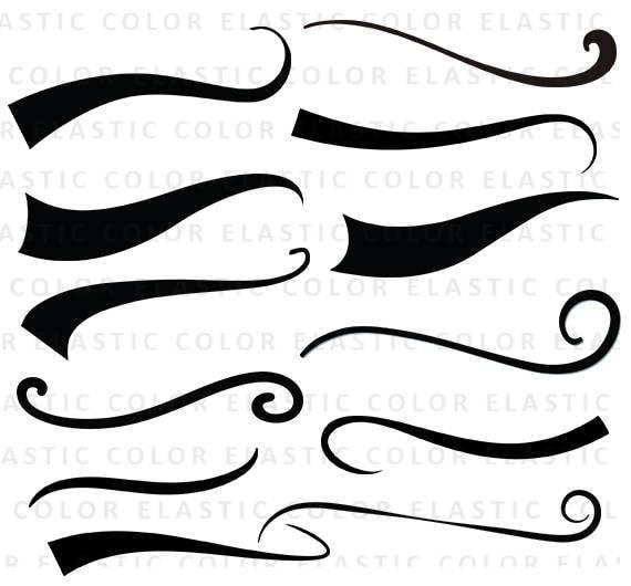 swoosh svg font tail underline svg file digital download rh etsy com baseball swoosh clipart clipart swoosh lines