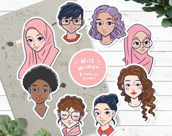 Sticker Pack : Wise Woman