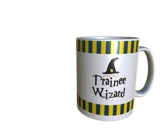 Ravenclaw Harry Potter 11oz Sublimated Trainee Wizard Mug House Colour