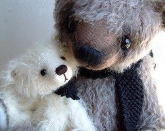 Popa artist bear epattern by Jenny Lee of jennylovesbenny boutique bears PDF