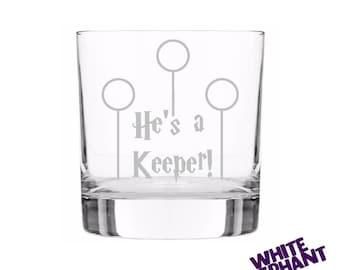 Harry Potter - He's a Keeper Tumbler/High-Ball/Pint Glass