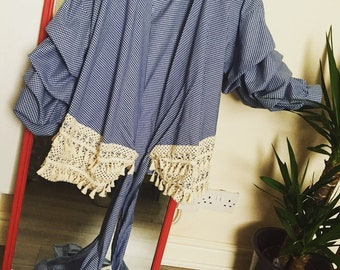 Womens wrap over top
