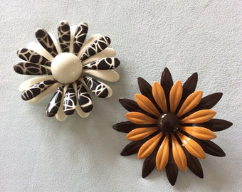 Fun Flower Brooches