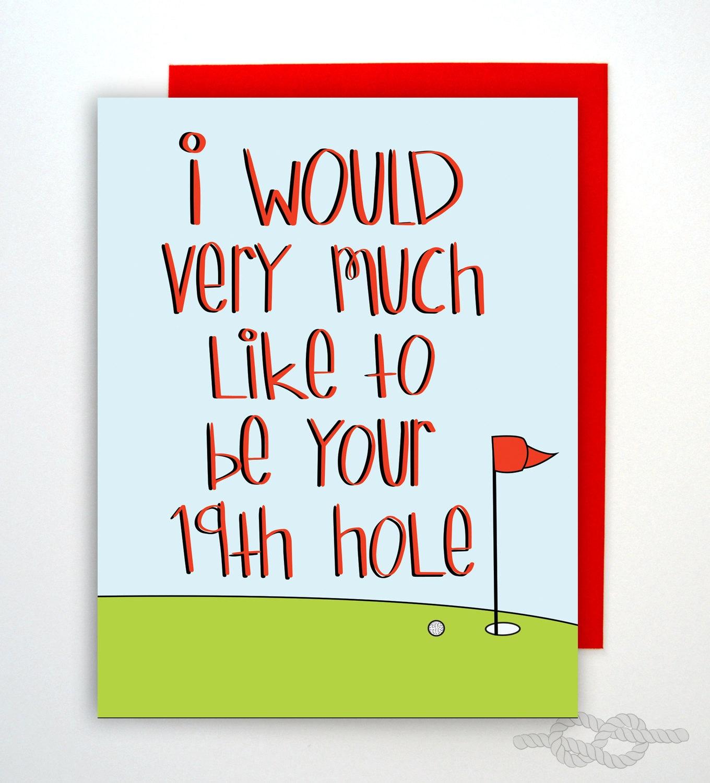 Funny naughty card birthday card golf card card zoom kristyandbryce Images