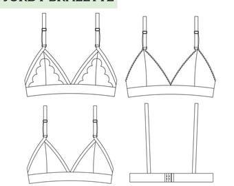 Jordy Bralette PDF Sewing Pattern