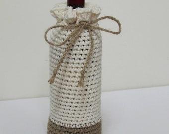 Summer Wine Bottle Cozy  (pick your color)