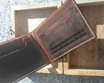 personalized mens wallet, leather wallet, bifold wallet, mens gift, for men, rustic wallet, personalized wallet, custom wallet, fathers day
