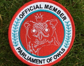 PARLIAMENT OF OWLS patch