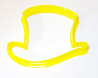 Top Hat Custom Cookie Cutter Fondant Play dough 3in NeW