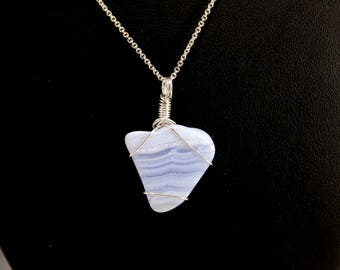African Blue Lace Agate