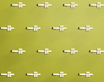 200 x Custom Made Tie Bars