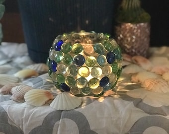 Chic Glass Candle Holder