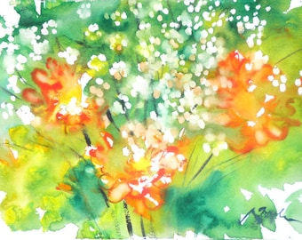 Fresh Pick No.230, limited edition of 50 fine art giclee prints from my original watercolor