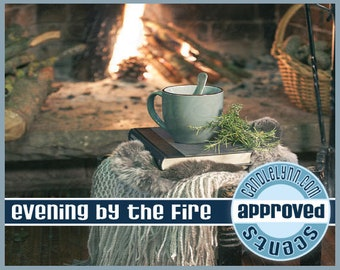 EVENING BY ThE FIRE Clam Shell Package - Tarts - Break Apart Melts