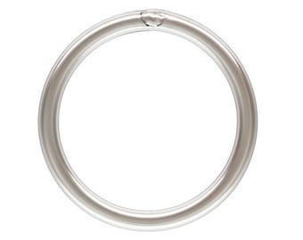 50pc, 12mm Closed Jump Rings. 18 gauge Thick Sterling Silver Jump Ring. Soldered Closed. Solid rings For bracelets, necklaces. Made in USA