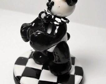 Peaca Ooak Hand Sculpted Collectible Bear