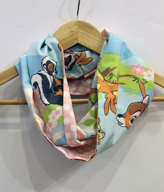 Disney Bambi Child's Infinity Scarf