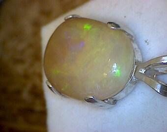 Beautiful Welo Opal Pendant