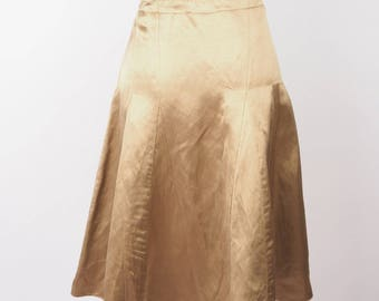 Vintage Golden Swing Skirt